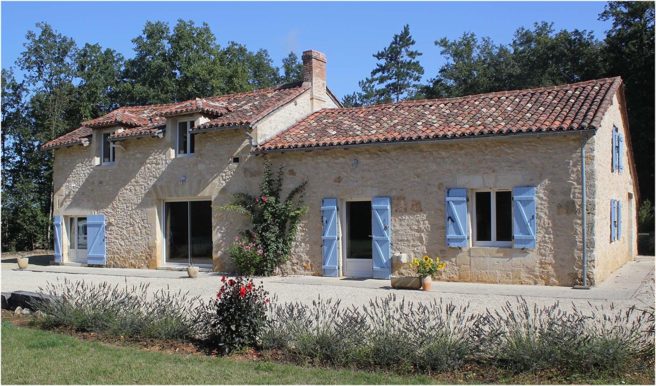 Location maison p rigourdine for Acheter une maison dans le sud ouest de la france